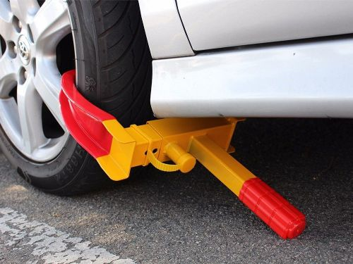 Wheel Lock Clamp Car Van Anti-thief